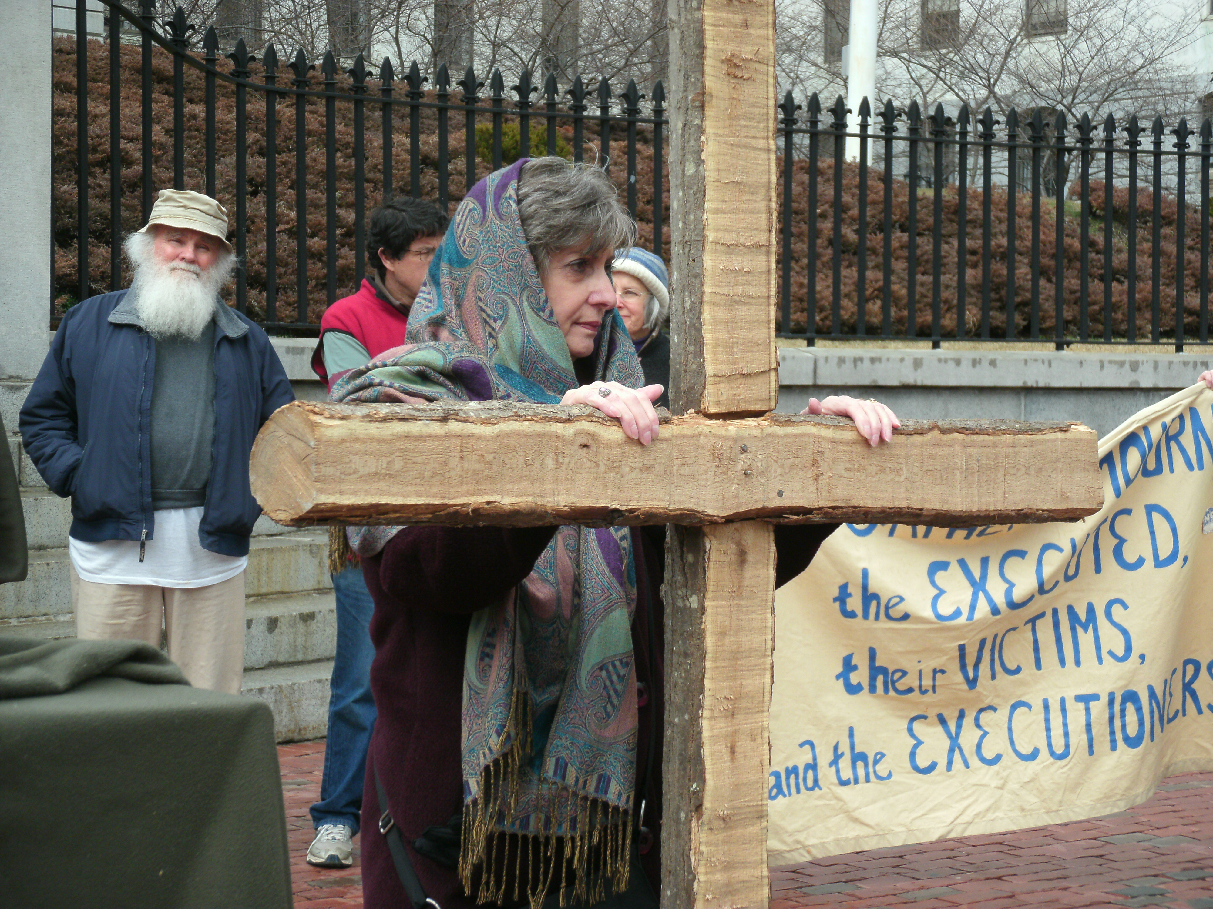 Good Friday Stations of the Cross - Annual Protest