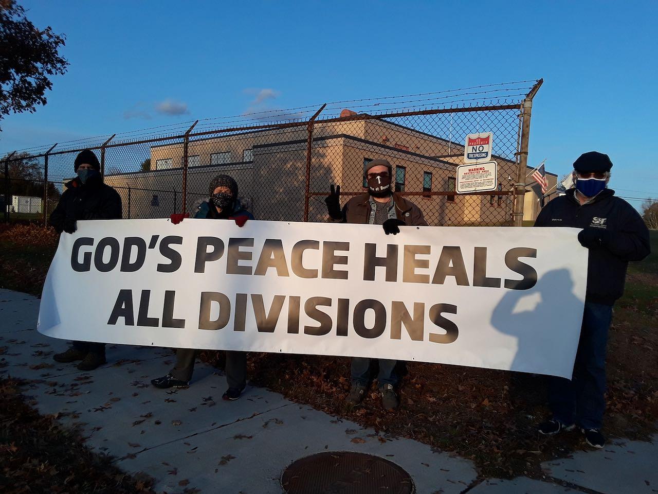 Election Day Ware Vigil Agape Community